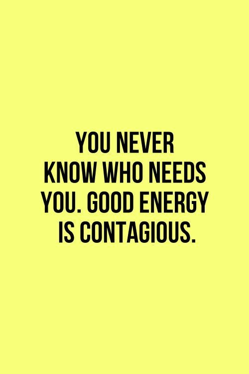 Inspirational energy quotes