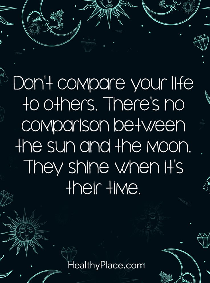 Quotes About Life Positive Quote Don't compare your life to others Delectable Positive Quote