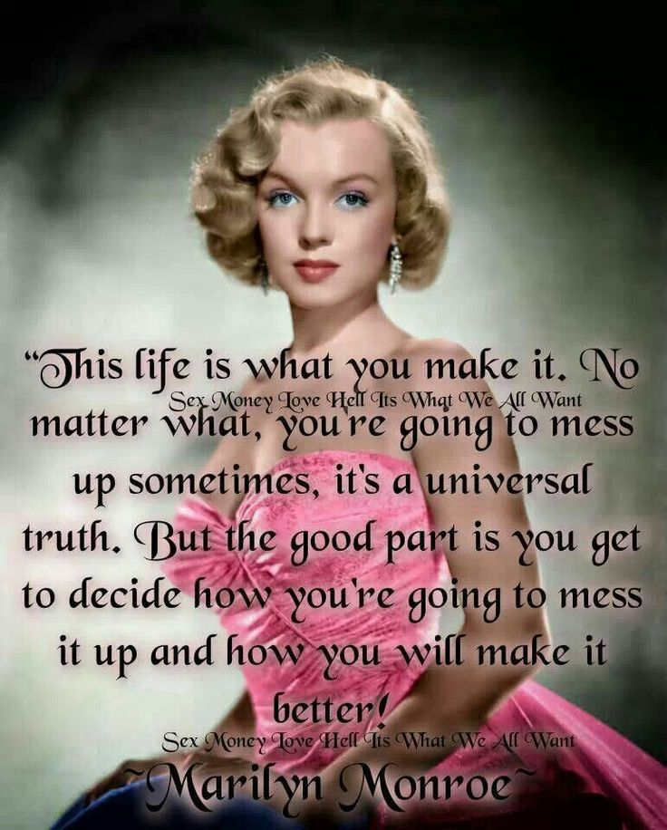 Celebrity Quotes Marilyn Monroe Quote Quotes Daily Leading