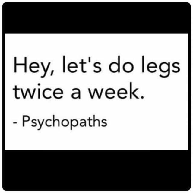 Fitness Motivation Funny Humor Quote Actually I Do Legs Three