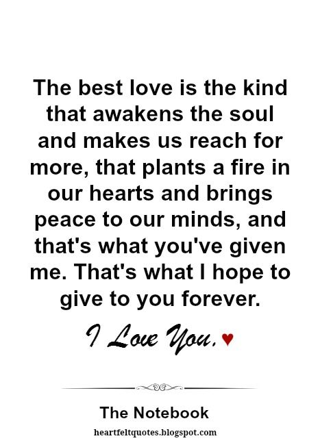 Best Love Sayings