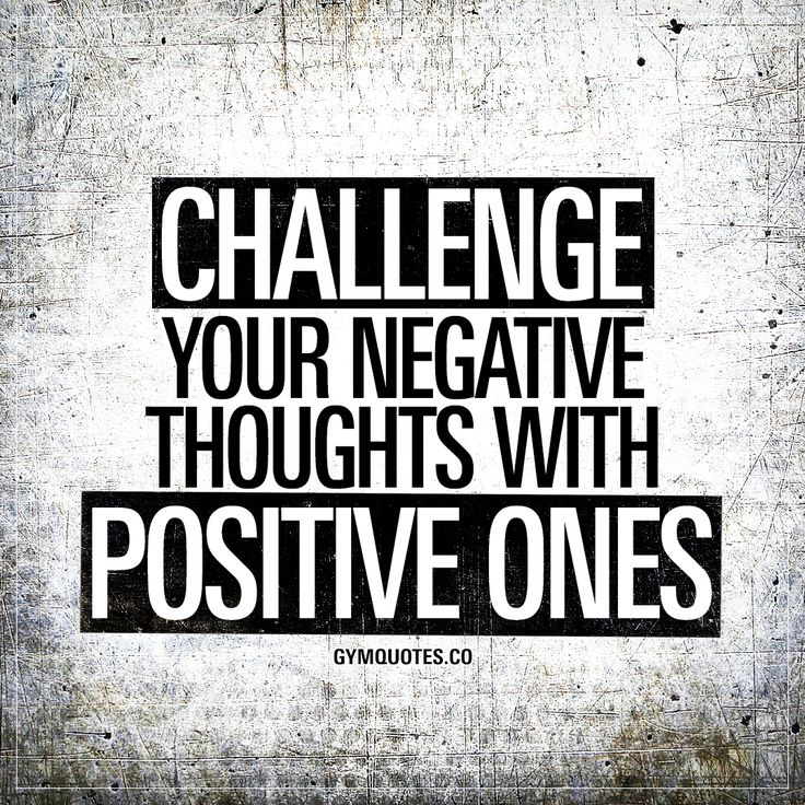 Motivational Fitness Quotes Challenge Your Negative Thoughts With