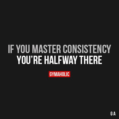Motivational Quotes Consistency: Motivational Fitness Quotes :If You Master Consistency