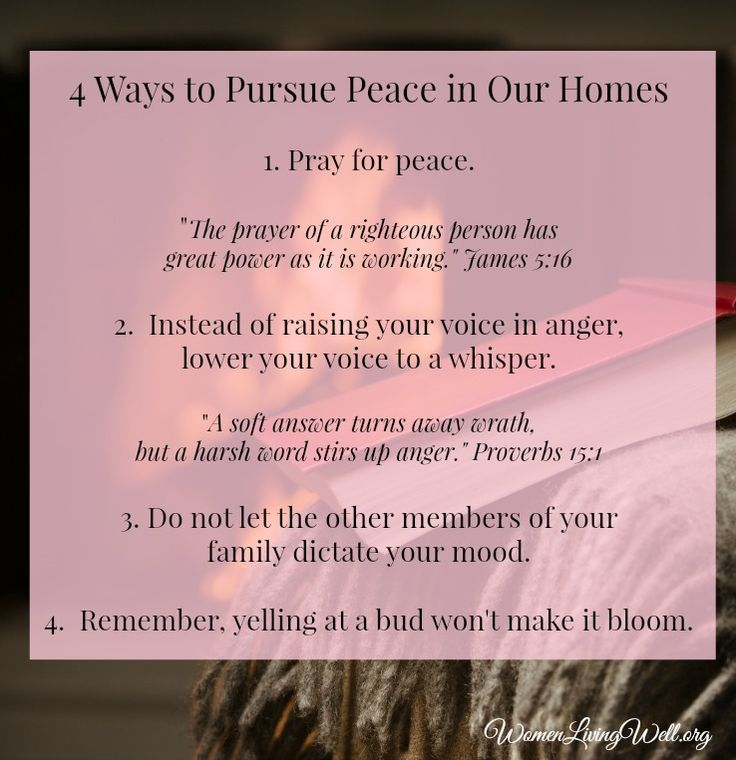 Quotes About Love 4 Ways To Pursue Peace In Our Homes Quotes