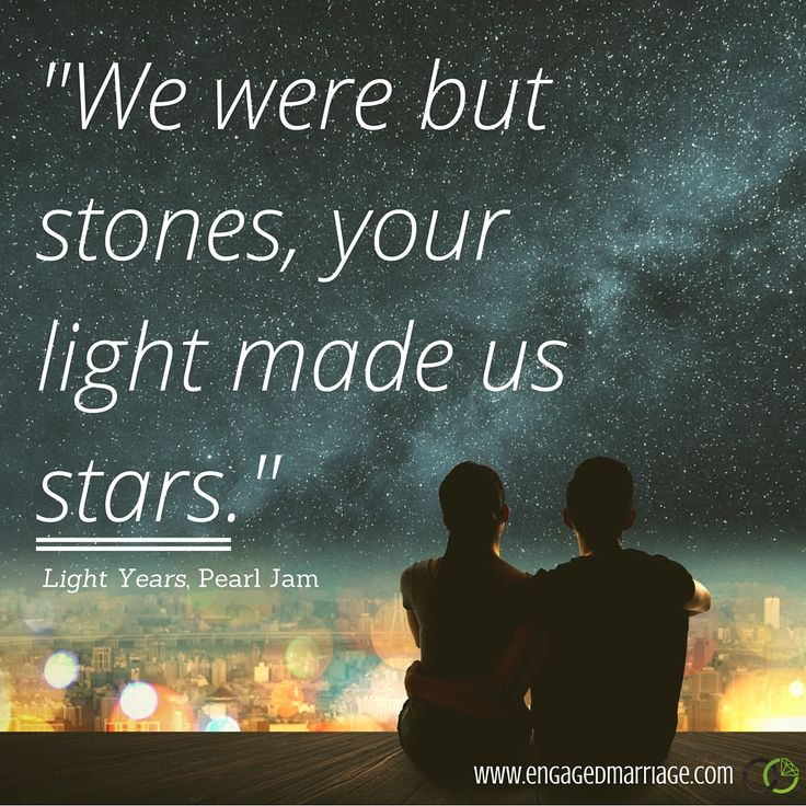 Quotes About Light And Love Cool Quotes About Love We Were But Stones Your Light Made Us Stars