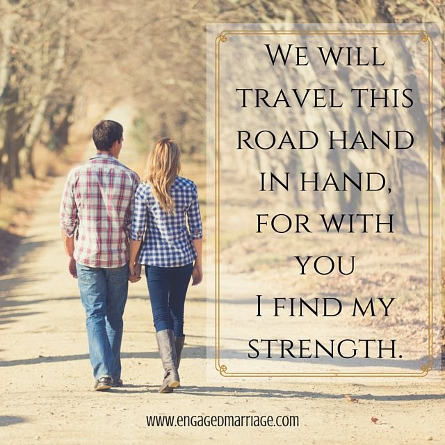 Quotes About Love We Will Travel This Road Hand In Hand For With