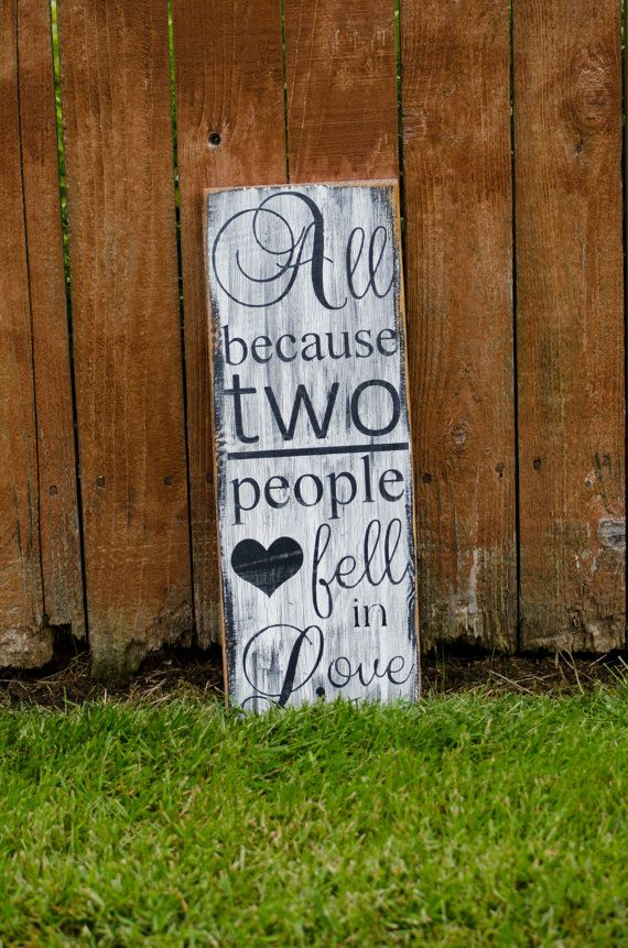 Quotes About Wedding Love All Because Two People Fell In Love