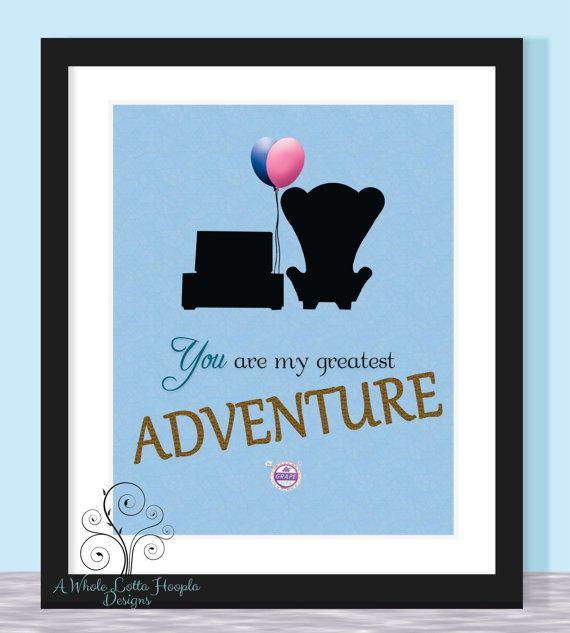 Quotes About Wedding & Love: Disney UP Quote Typographic ...