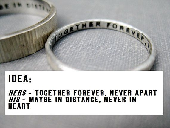 Quotes About Wedding Love Quote Idea Love Rings His N Hers