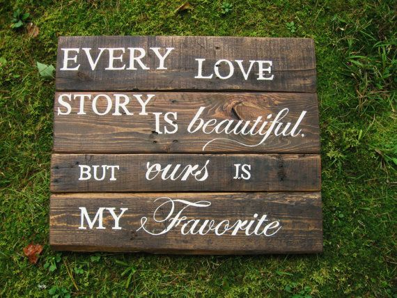 Quotes About Wedding Love Reclaimed Wood 24 X 20 Rustic Wedding