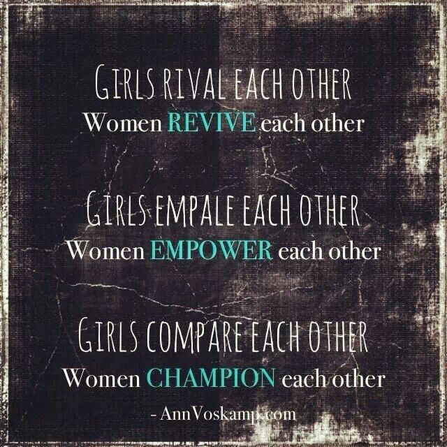 Quotes About Wisdom:Girls vs. Women - Ann Voskamp quote ...