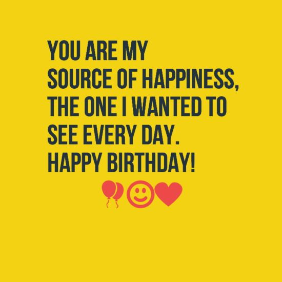 Happy Love Quotes For Her: Love Quotes For Him & For Her :Happy Birthday I Love You