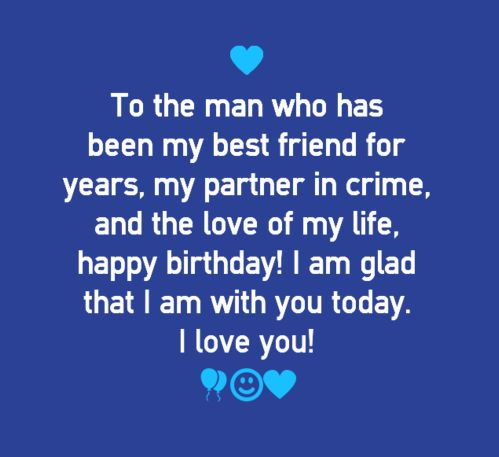 Love Quotes For Him For Her Happy Birthday Quotes for Boyfriend