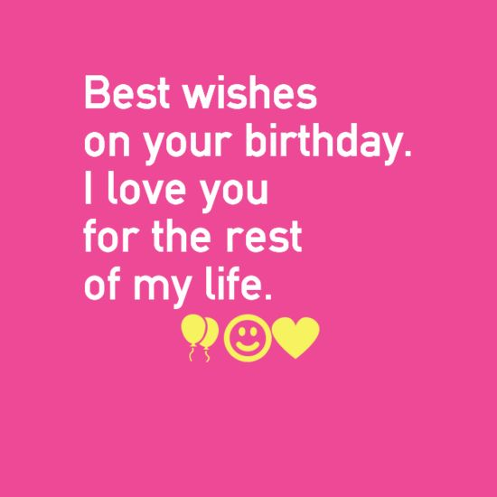Love Quotes For Him & For Her :Happy Birthday I Love You