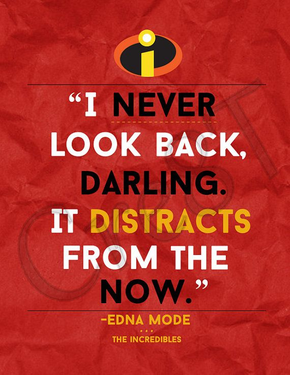 Disney The Incredibles Movie Quote Print By Cre8t On Etsy 300 Hey