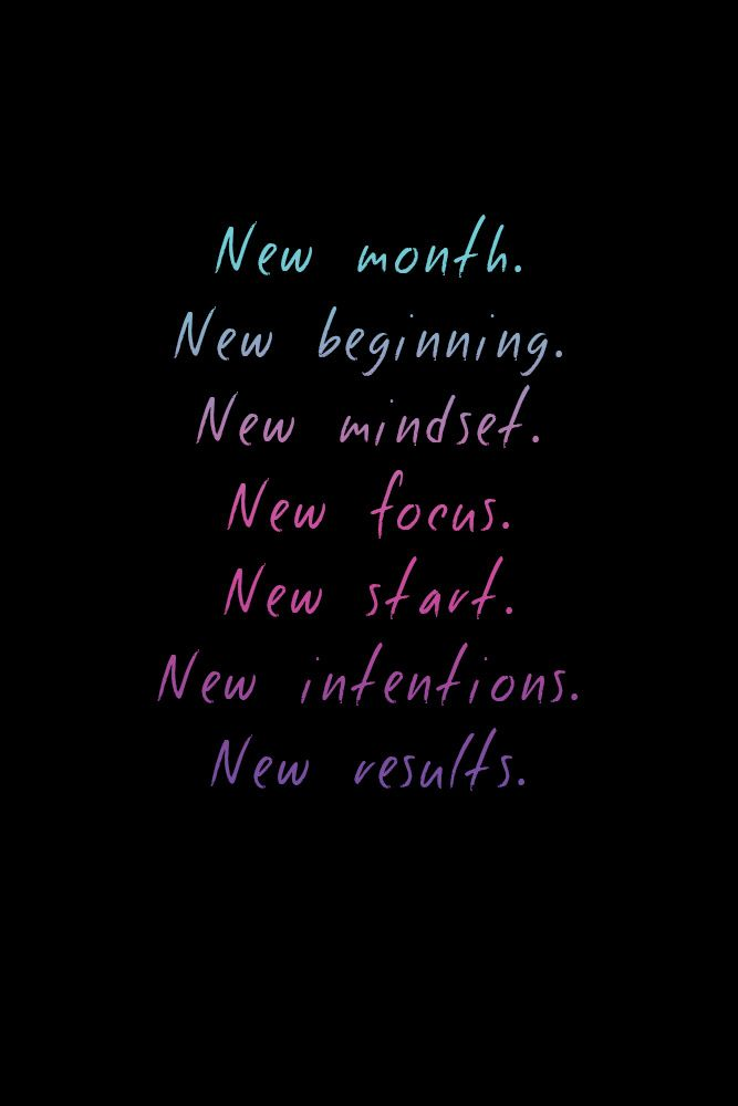 Fitness Quotes New Month New Beginning Make A Change And Sign Up