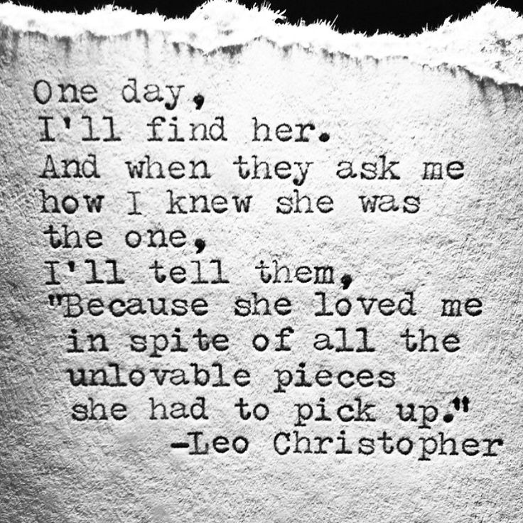 Love Quotes For Him & For Her :Leo Christopher • Pieces
