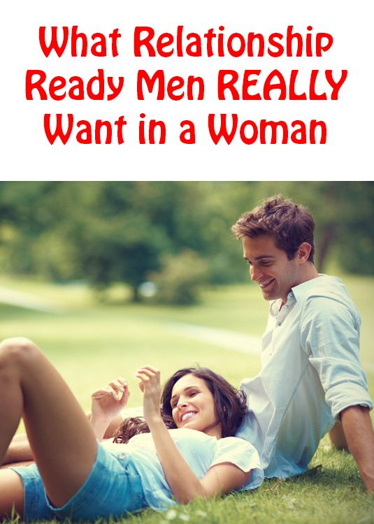 What a man want in a relationship