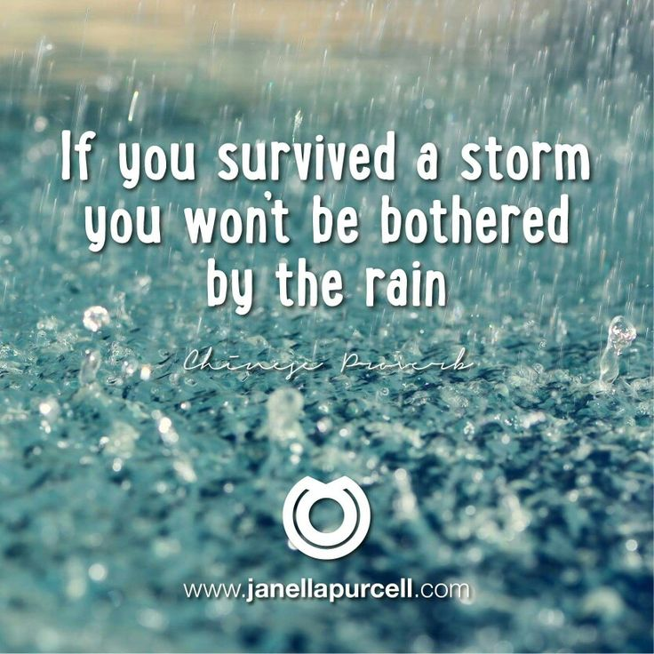 Positive Quotes Rain: Motivational Fitness Quotes :If You've Survived A Storm