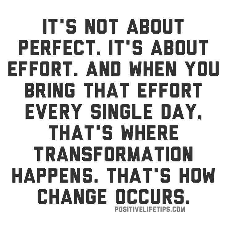 Motivational Fitness Quotes Its Not About Perfect Its About