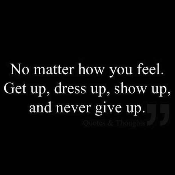 Motivational Fitness Quotes Never Give Up Goals Dreams