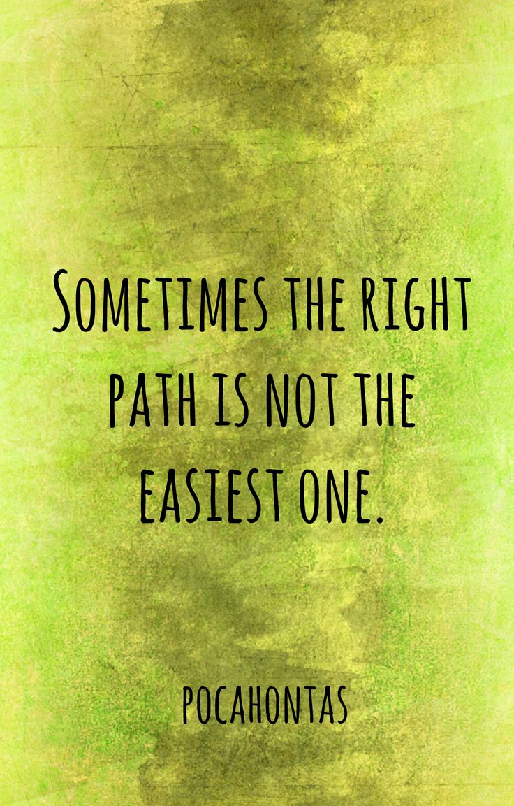 Motivational Fitness Quotes Sometimes The Right Path Is Not The