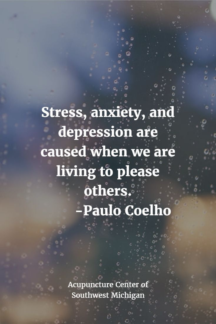 Quotes About Life :Stress, anxiety, and depression are ...