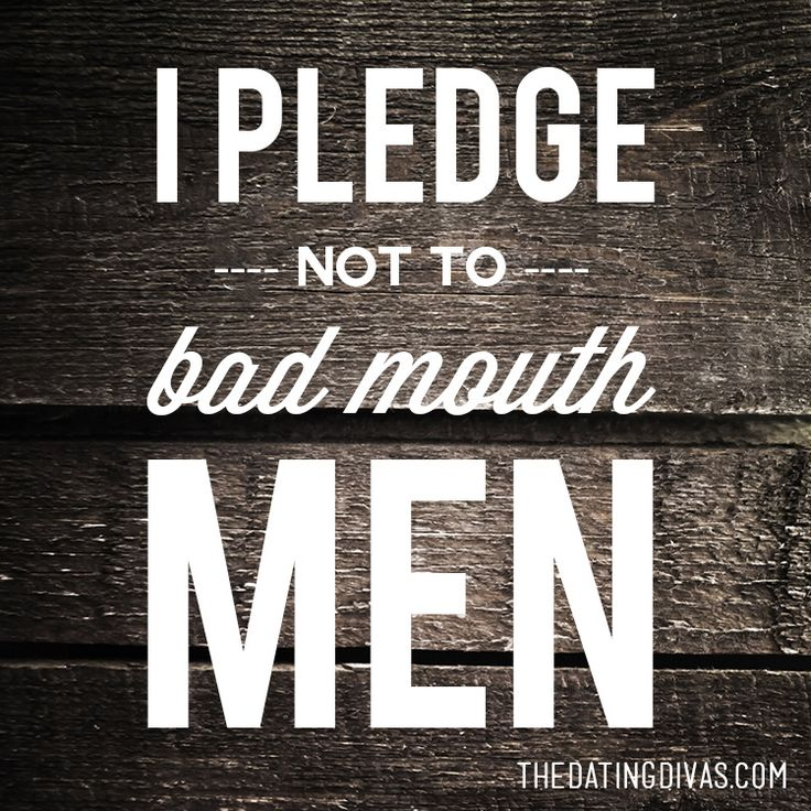Quotes About Love: I pledge not to husband bash or bad mouth ...