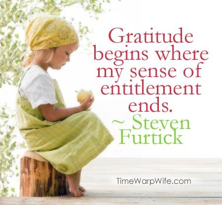 Quotes About Wisdomgratitude Begins Where My Sense Of Entitlement
