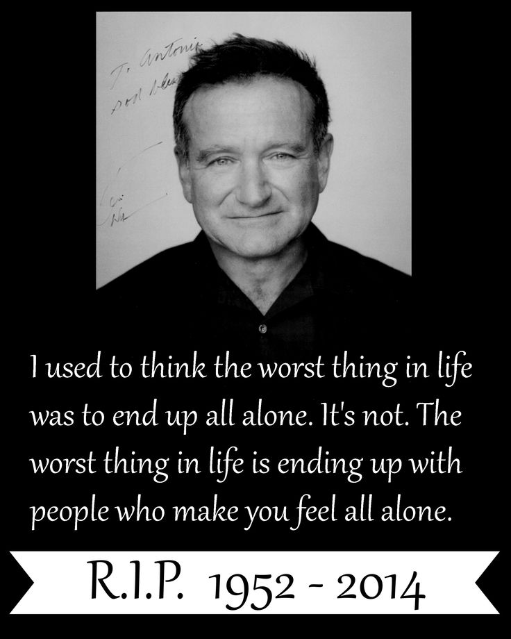 Celebrity Quotes : R.I.P Robin Williams. You will be truly ...