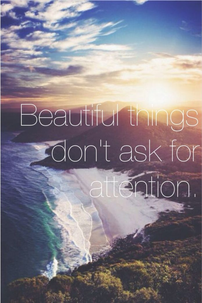Inspirational Quotes About Strength Beautiful Things Dont Ask For