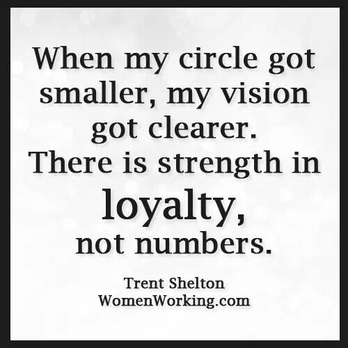 Inspirational Quotes About Strength When Your Circle Gets Smaller