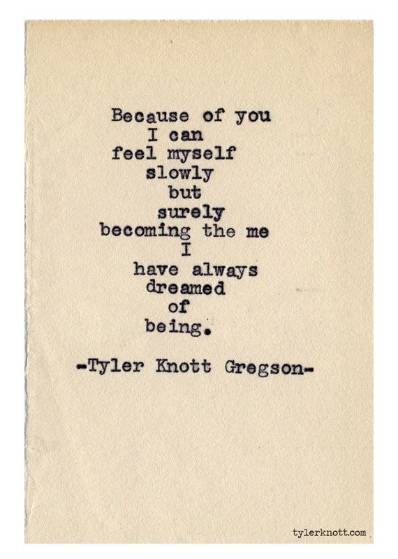 Quotes About Love: Tyler Knott love poem giveaway ...
