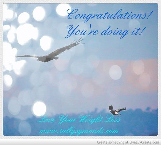 Inspirational Quotes about Weight Loss :Congratulations ...