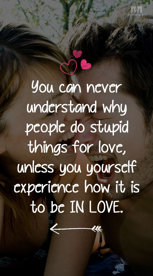 stupid love quotes for her