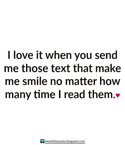 Love Quotes To Send To Him: Love Quotes For Him & For Her :I Love It When You Send Me
