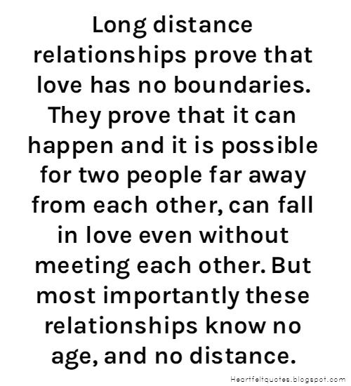 Love Quotes For Him & For Her :Long Distance Relationship
