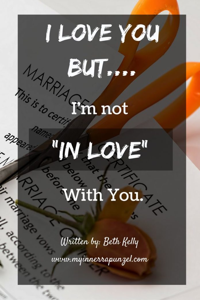 """Quotes About Life :When You Want To Say, """"I Love You But I"""