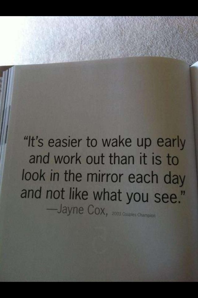 Inspirational Quotes About Weight Loss Its Easier To Wake Up