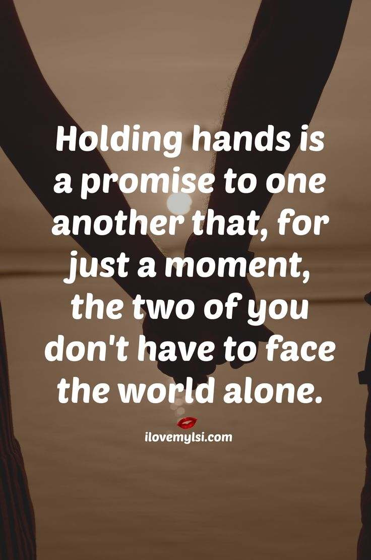 Love One Another Quotes Love Quotes For Him & For Her Holding Hands Is A Promise To One