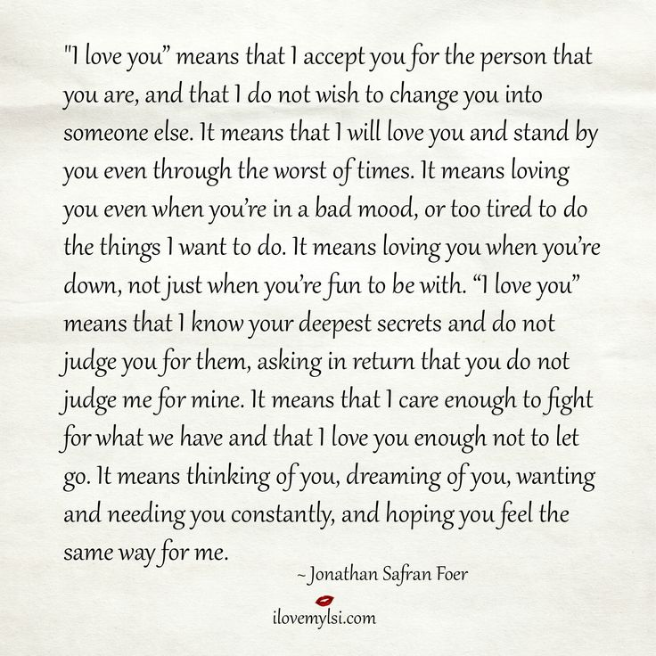 """Free Love Quotes For Her Download: Love Quotes For Him & For Her :""""I Love You"""" Means That I"""