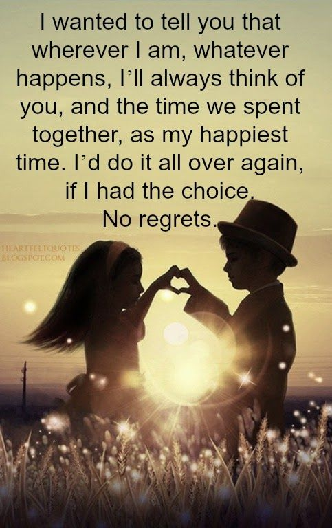 Love Quotes For Him For Her Ill Always Think Of You