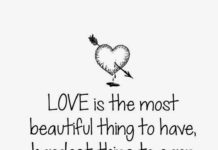 Love Quotes For Him U0026 For Her :Love Is The Most Beautiful Thing To Have,  Hardest Thing To Earn And Most Hurtfulu2026