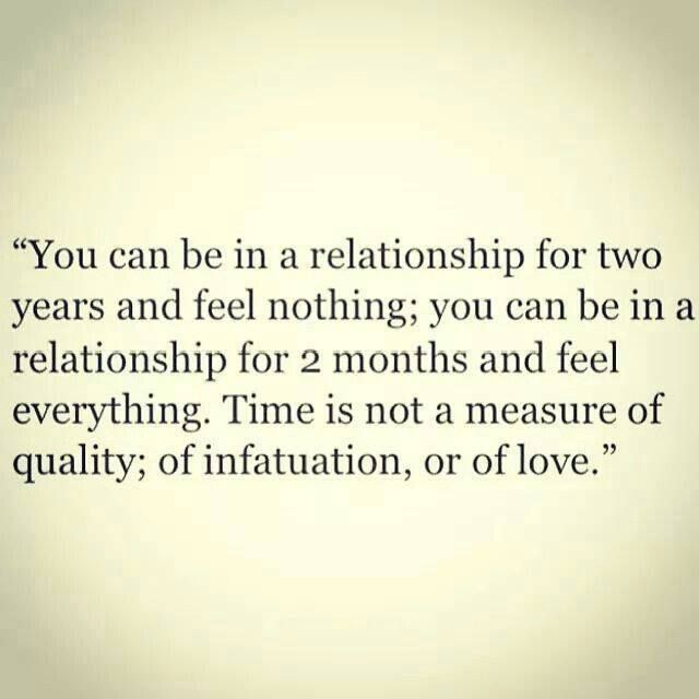 Love Quotes For Him For Her Time Is Not A Measure Of Quality