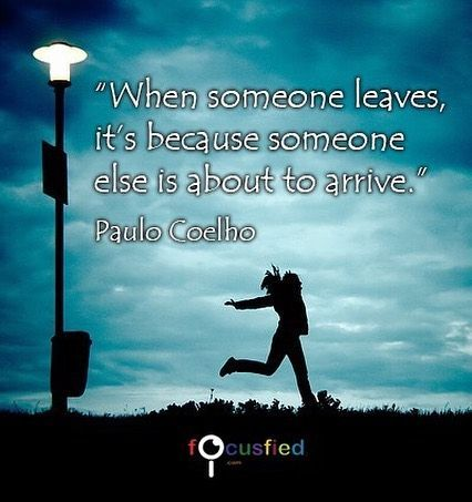Quotes About Life When Someone Leaves Its Because Someone Else Is