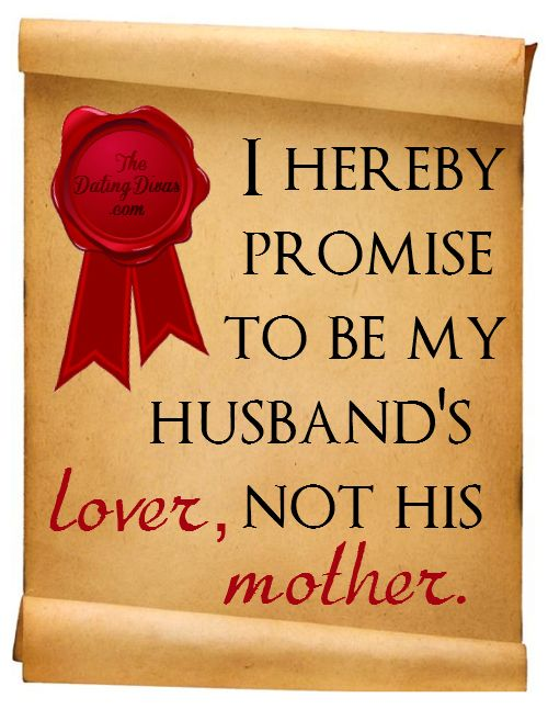 Quotes About Love: I hereby promise to be my husband's LOVER