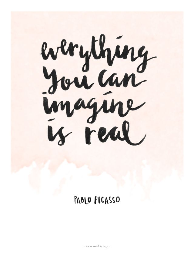 f29a40b2d0 Everything You Can Imagine Is Real - Quotes Daily