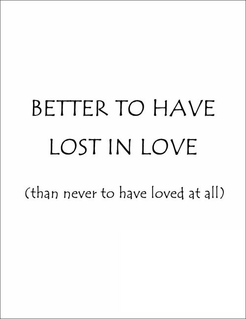 Famous Lost Love Quotes For Him