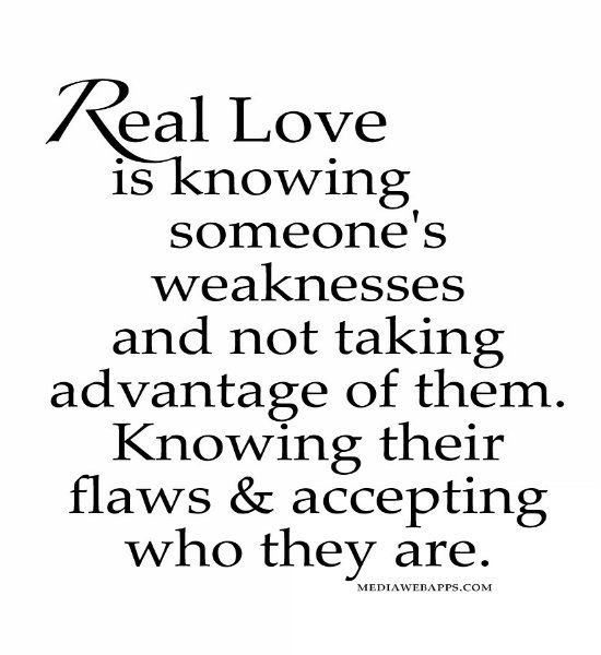 Love Quotes For Him For Her Real Love Is Knowing Someones