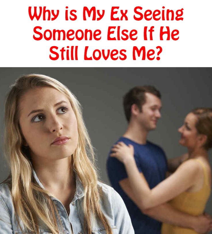 After the Breakup He Is Already Dating Someone Else